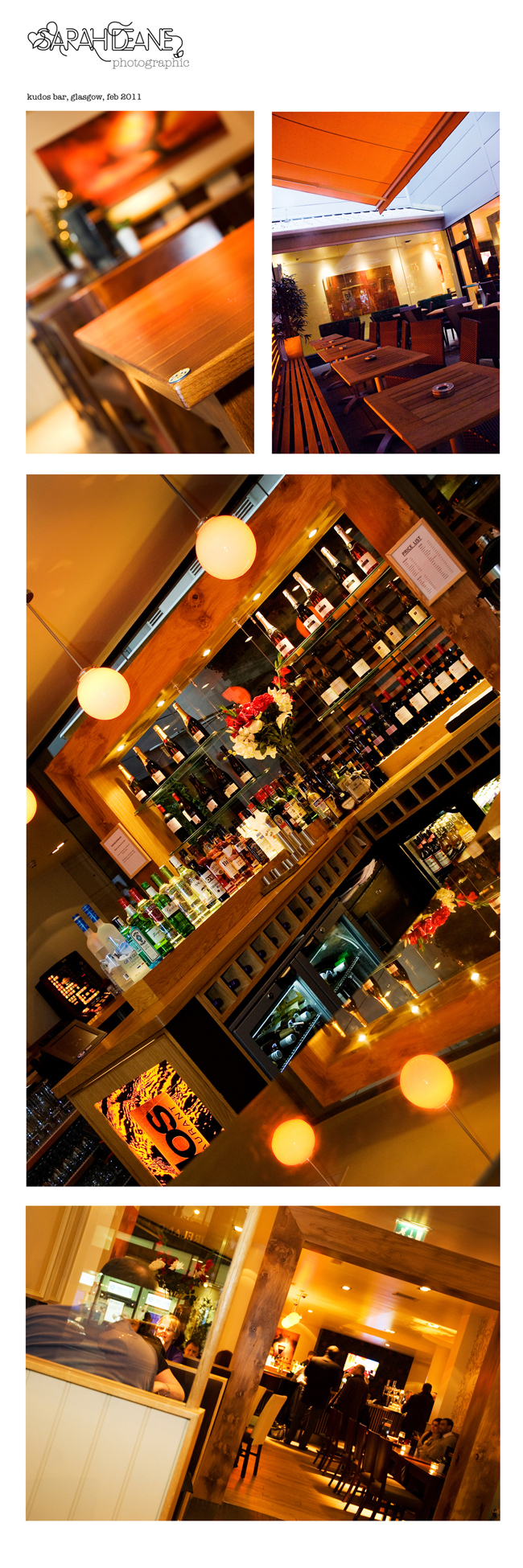 Kudos Bar Commercial Photography