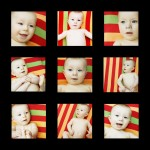 x9 Family Portrait Photograph Templates