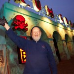 Glasto 2013- Micheal Eavis at Rum Shack, the common 353