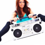 Sophia model shoot with headphones at newcastle studio 1-078copy