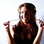 Sophia model shoot with headphones at newcastle studio 1-091