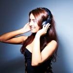 Sophia model shoot with headphones at newcastle studio 1-096