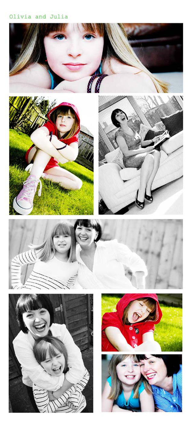 Julia and Olivia Portraits