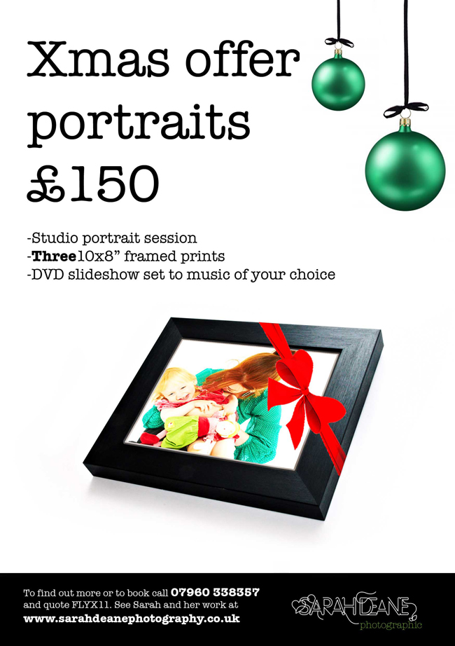 Christmas Portrait Photography