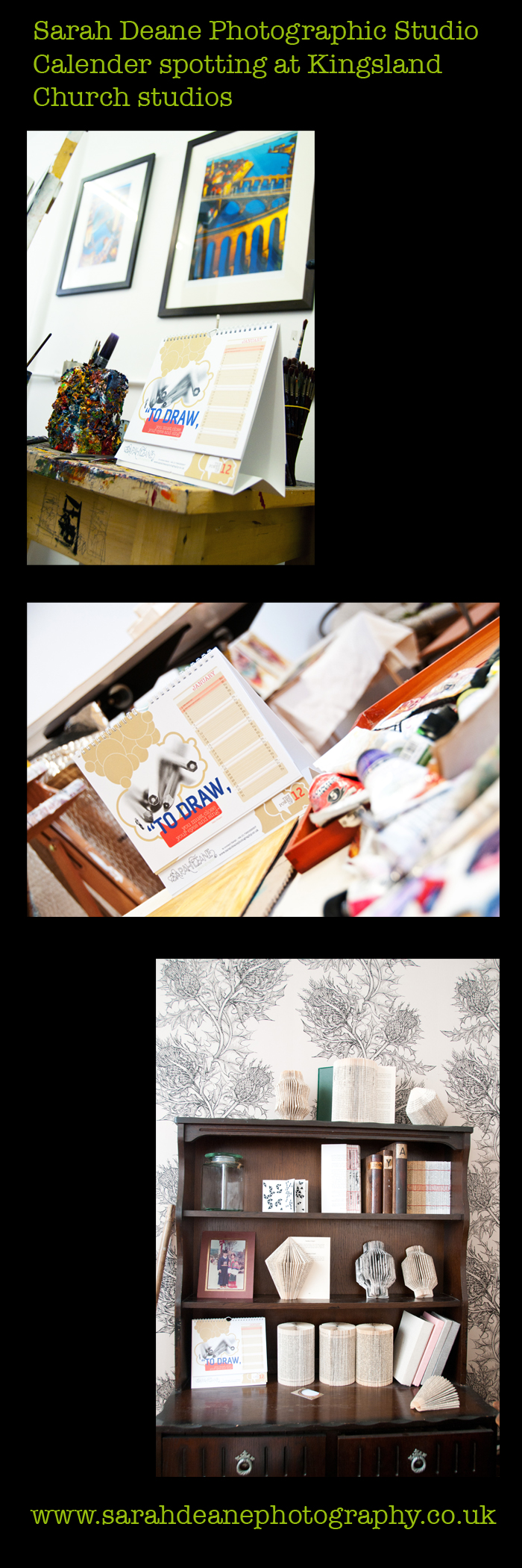 photographic & graphic design calendar 2012