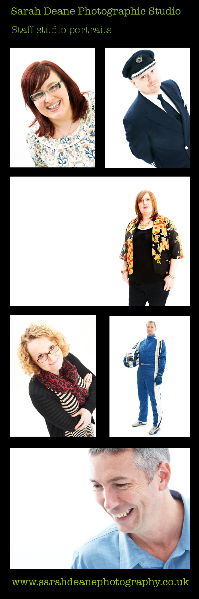 corporate photography for staff portraits