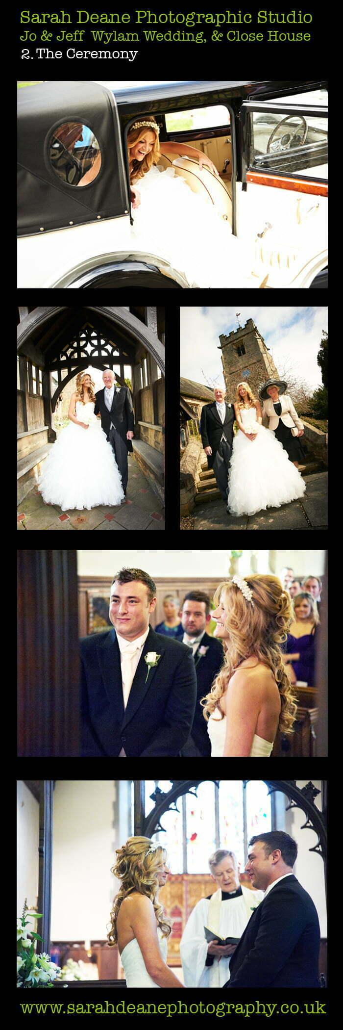 close house northumberland wedding jo & jeff ceremony 2