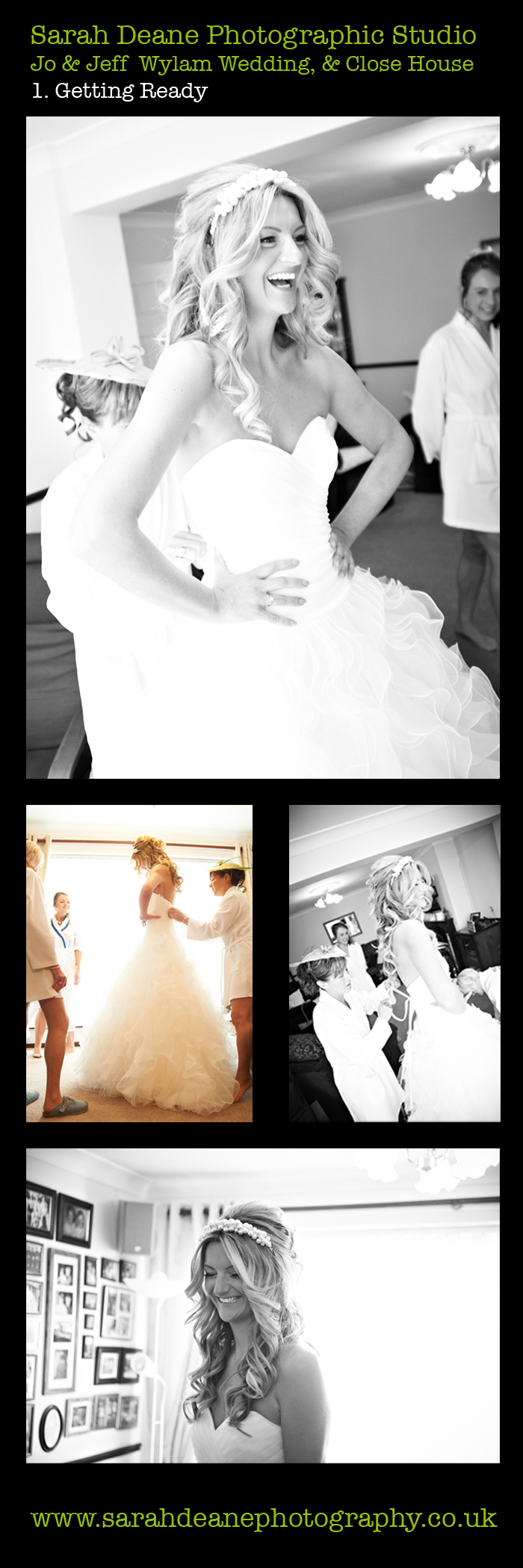 close house northumberland wedding jo & jeff gettting ready 1