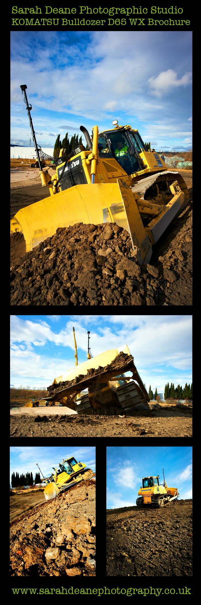 komatsu D65 bulldozer photos