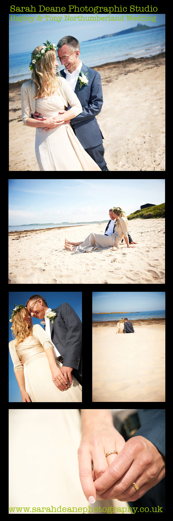 hayley and tony wedding embleton bay northumberland 2