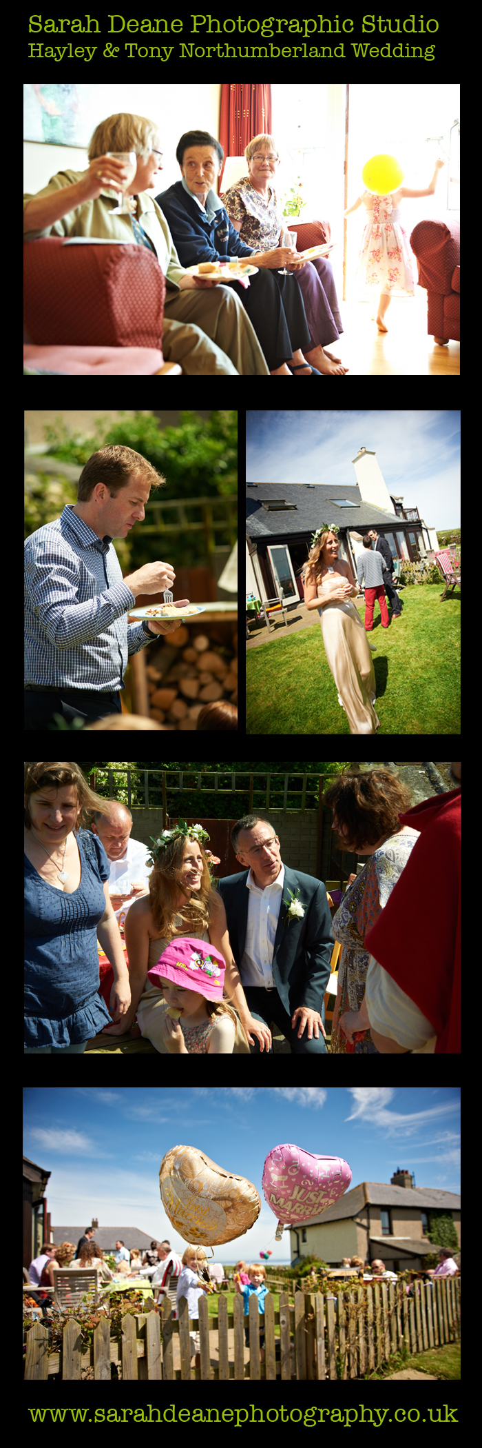 hayley and tony wedding newton beach northumberland 3