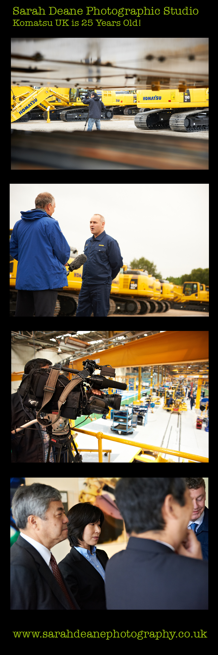 komatsu uk is 25 years old
