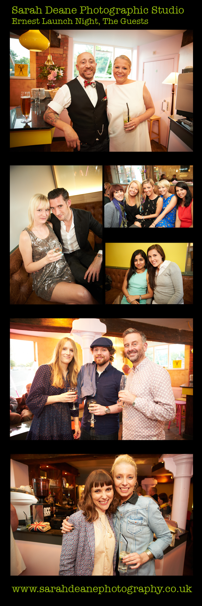 guests at ernest launch night ouseburn newcastle