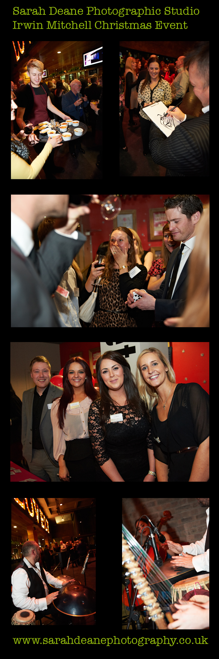 Irwin Mitchell Christmas Client Event Photography at Northern Stage, Newcastle n2