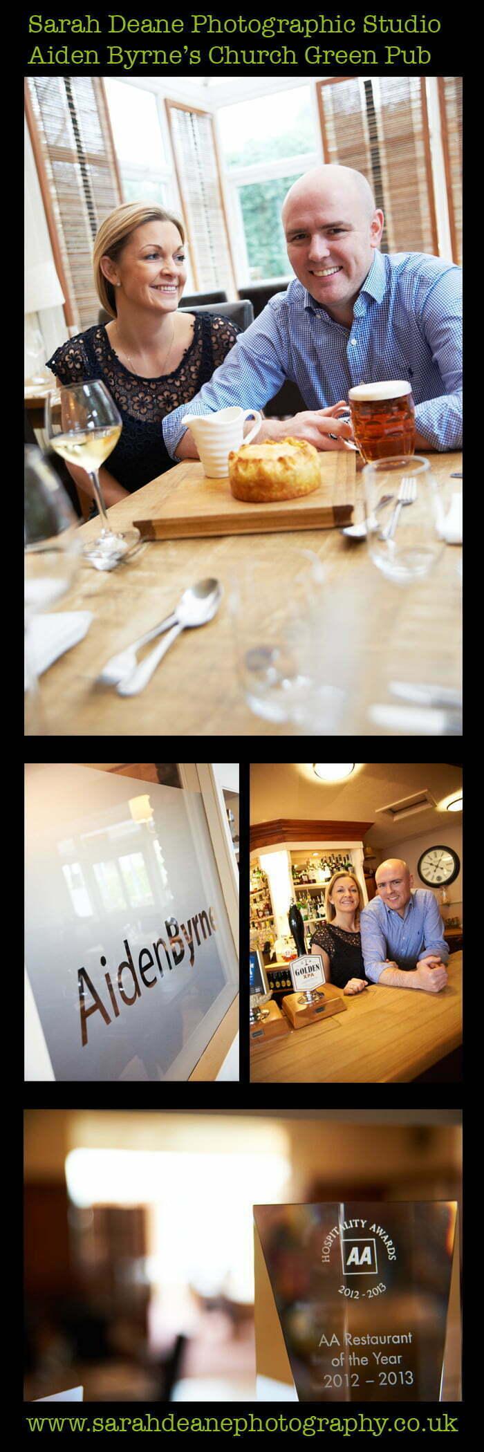 Aiden Byrne the Church Green, Lymm, Cheshire pub