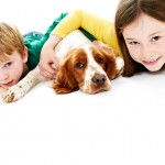 pet portraits with kids at newcastle photo studio 2