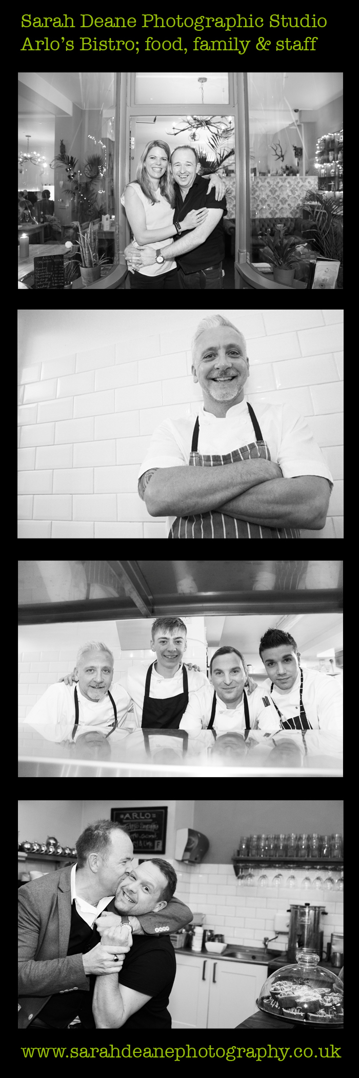arlo's staff portrait photography in jesmond bistro newcastle