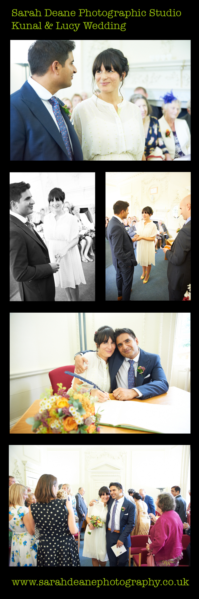 lucy & kunal wedding at durham registry office 1