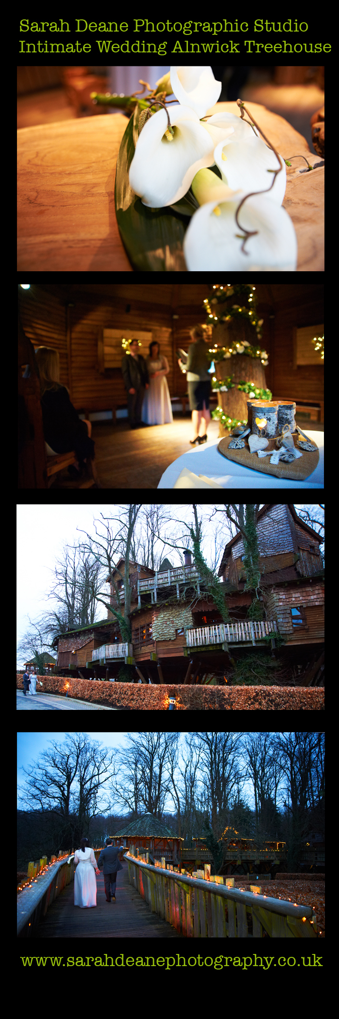 ALNWICK INTIMATE WEDDING AT TREEHOUSE NORTHUMBERLAND copy