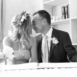 Hayley & Tony Wedding, Newton Beach, Northumberland -031
