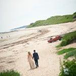 Hayley & Tony Wedding, Newton Beach, Northumberland -089
