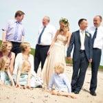 Hayley & Tony Wedding, Newton Beach, Northumberland -101
