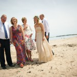 Hayley & Tony Wedding, Newton Beach, Northumberland -116