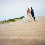 Hayley & Tony Wedding, Newton Beach, Northumberland -136