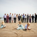 Hayley & Tony Wedding, Newton Beach, Northumberland -141