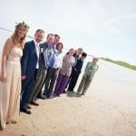 Hayley & Tony Wedding, Newton Beach, Northumberland -149