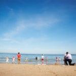Hayley & Tony Wedding, Newton Beach, Northumberland -296