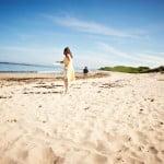 Hayley & Tony Wedding, Newton Beach, Northumberland -301