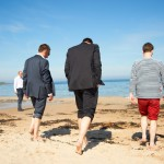 Hayley & Tony Wedding, Newton Beach, Northumberland -326