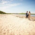Hayley & Tony Wedding, Newton Beach, Northumberland -351