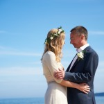 Hayley & Tony Wedding, Newton Beach, Northumberland -358