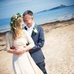 Hayley & Tony Wedding, Newton Beach, Northumberland -365