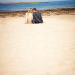 Hayley & Tony Wedding, Newton Beach, Northumberland -378