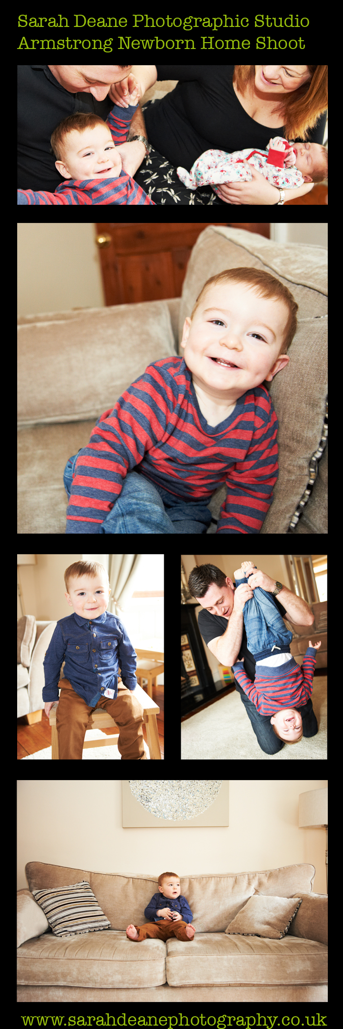 newborn and brother photos at home for portrait shoot gateshead