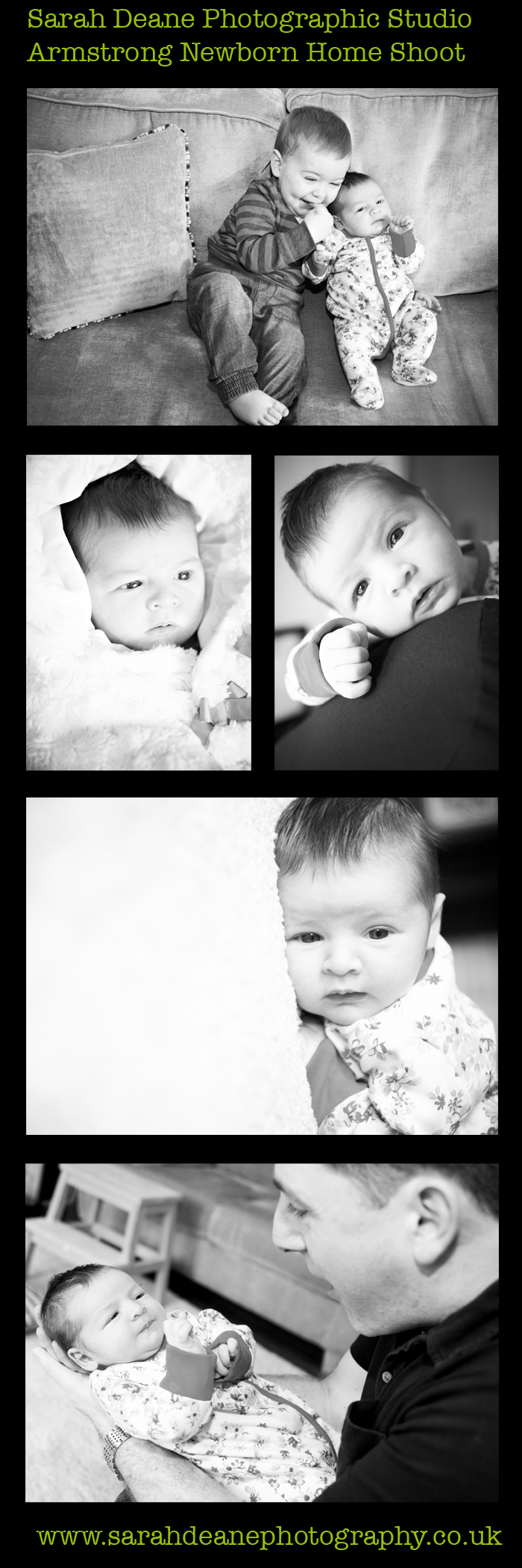 newborn family portraits at home in low fell gateshead