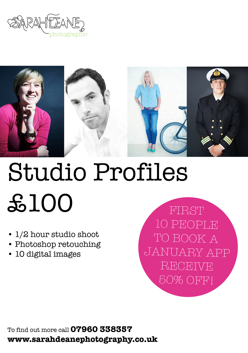 Studio profile shots2 JAN OFFER72DPI