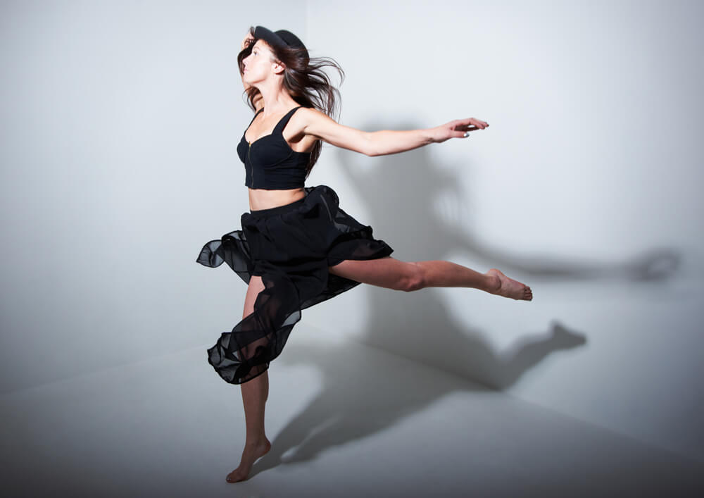 Dancer portraits taken in Newcastle photography studio