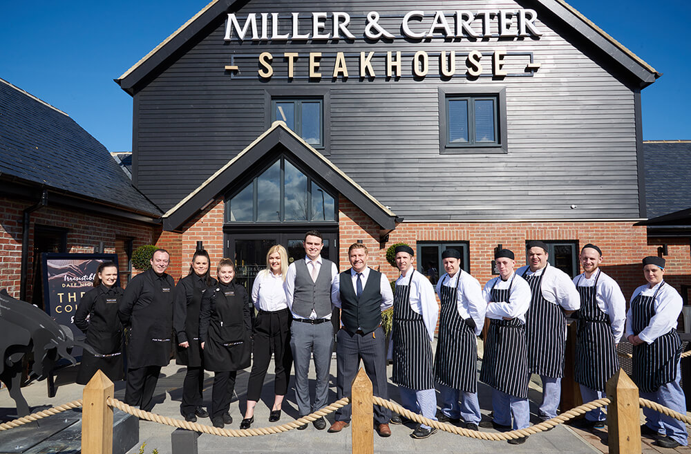 Miller & Carter Steakhouse Gosforth Portraits and team shots