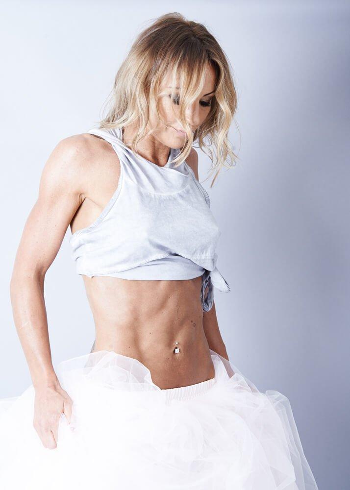 Body Builder Fitness portraits taken in Newcastle photography studio