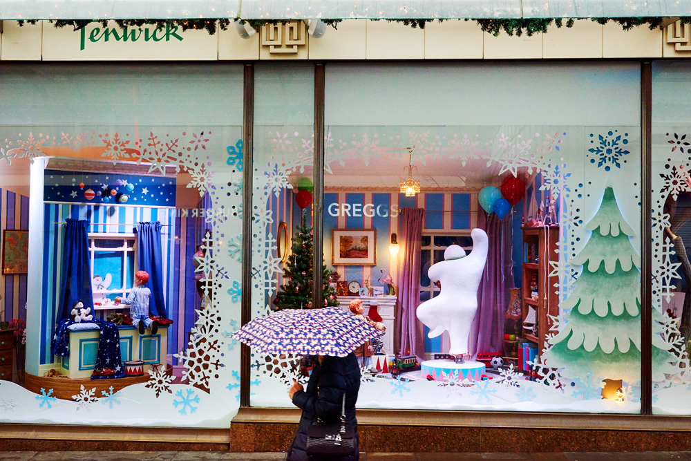 Fenwick's window photography winter 2018 by Newcastle Photographer