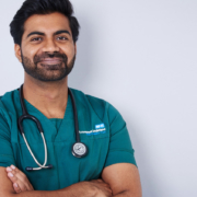 Photography studio images of a doctor GP in Newcastle upon Tyne
