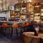 Restaurant interiors photography to show the newly refurbished Arlo of Jesmond