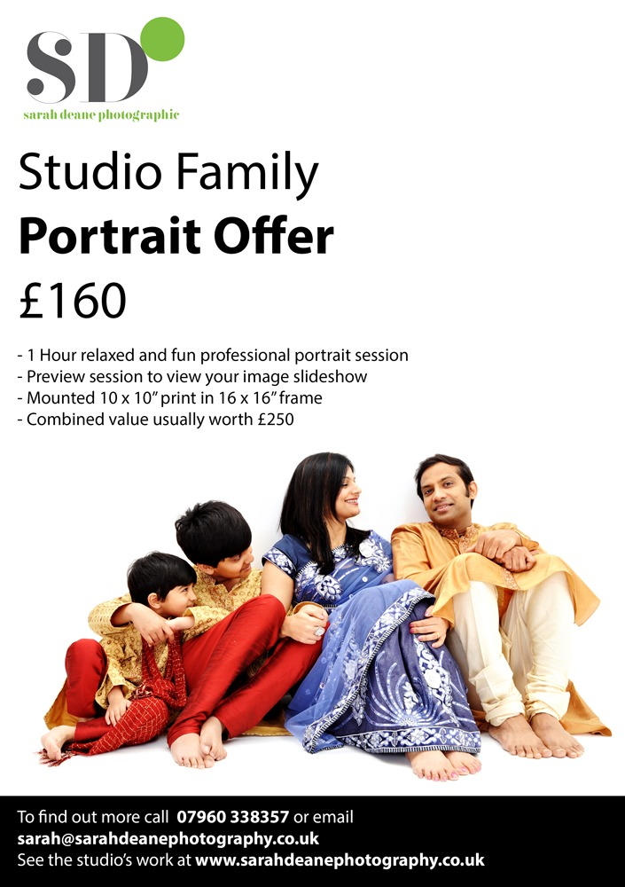 Professional Photography in Newcastle offers a studio shoot for the familyStudio Family Portrait offer 72dpi