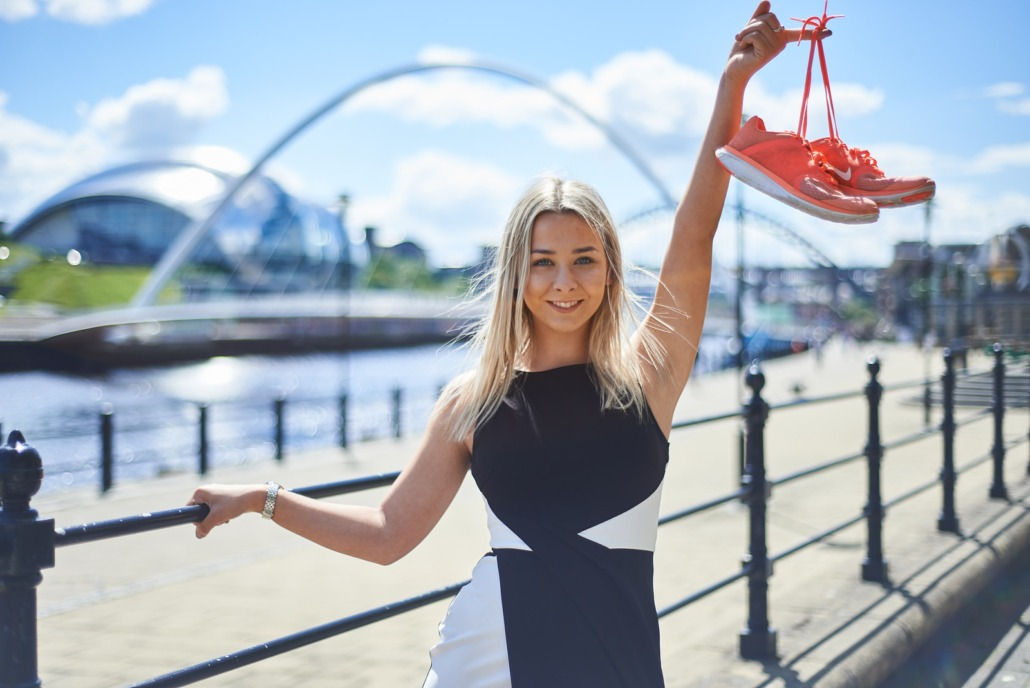 Portraits taken in Newcastle by Sarah Deane photography studio