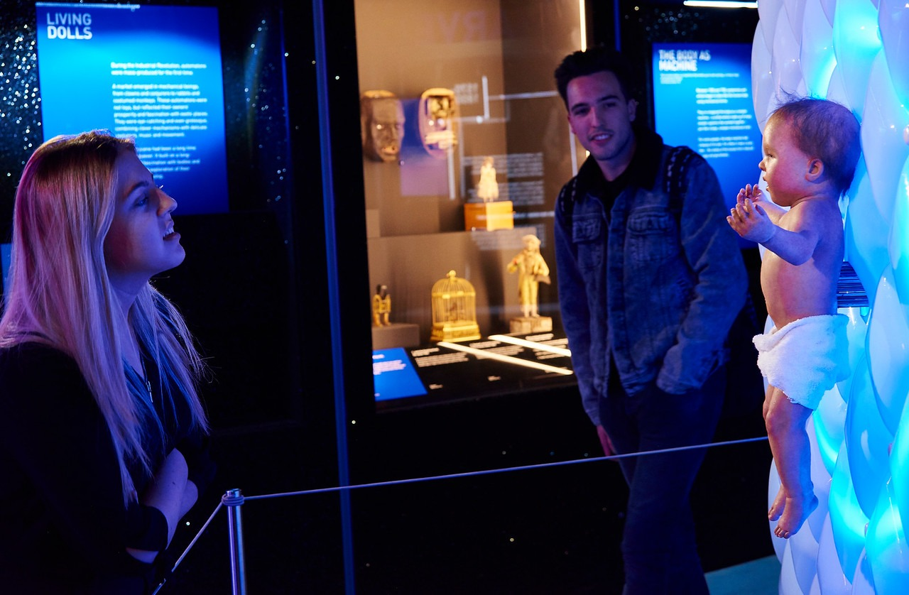 Science Museum Robots Exhibition Photography taken in Newcastle at Life 1