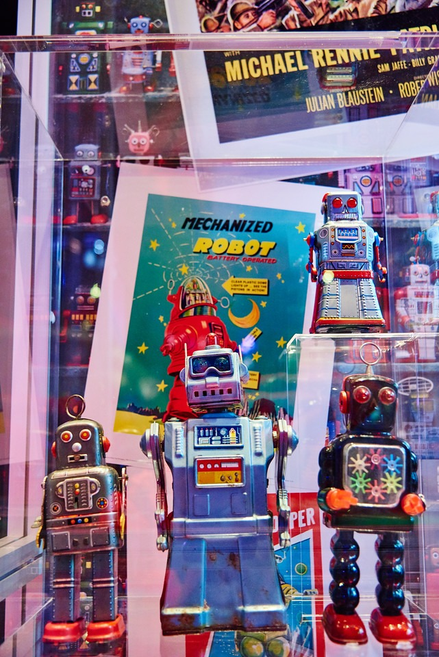 Science Museum Robots Exhibition Photography taken in Newcastle at Life 6